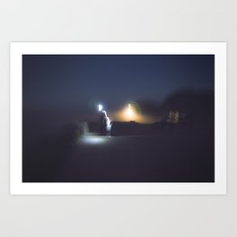 Bouncing Light Art Print