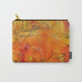 Yellow Dreams Carry-All Pouch