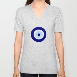 Evil Eye Lava Pattern Unisex V-Neck