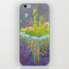 Aeolus 's flying island iPhone & iPod Skin