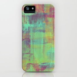 Humility - Mixed Colour Abstract iPhone Case