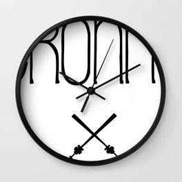 TRONNA - BEST CITY Wall Clock