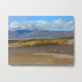 Death Valley GOld Metal Print