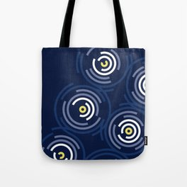 Spin Cycle Modern Abstract Tote Bag