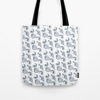 shells Tote Bags featuring shells by sustici