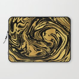 Black and Gold Marble Edition 2 Laptop Sleeve