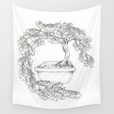 Ginkgo Tree Wall Tapestry