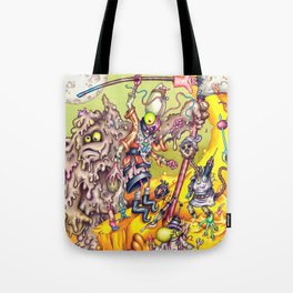Low Life Adventurerers Tote Bag