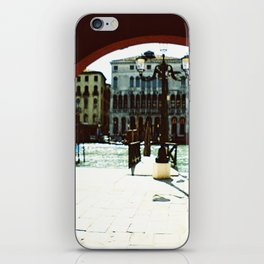 Venice - Archway onto the Grand Canal iPhone Skin