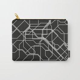 Minimalist Paris Metro design Carry-All Pouch