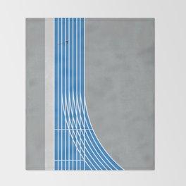 Finish Line Sprinter  Throw Blanket