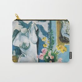 The Plaster Torso - Henri Matisse - Exhibition Poster Carry-All Pouch