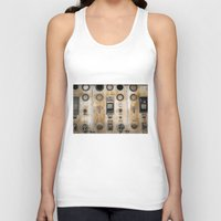 finding nemo Tank Tops featuring Captain Nemo by Inogitna Designs