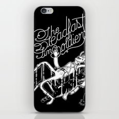 The Steadfast Tin Soldier iPhone & iPod Skin