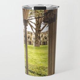 Cathedral Cloisters Travel Mug