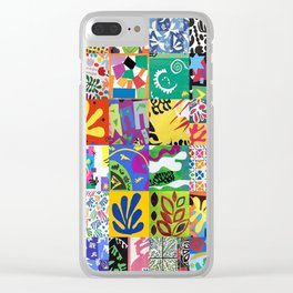 Henri Matisse Montage Clear iPhone Case
