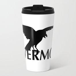 Nevermore - The Raven Travel Mug