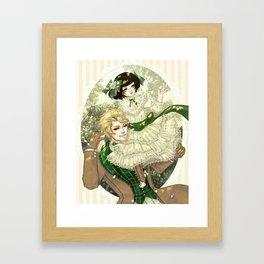 Black Butler - Sieglinde and Wolf Framed Art Print