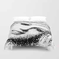 britney spears Duvet Covers featuring Spears by Mullin