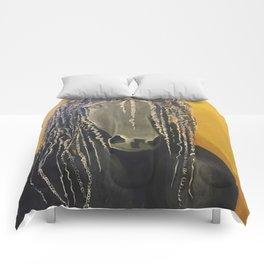 Yellow Horse Comforters