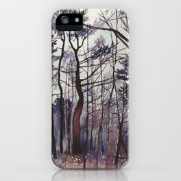 Afternoon Lament iPhone Case
