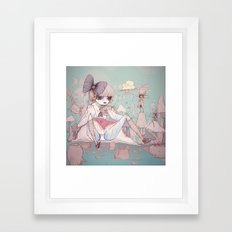 In Memory Of Framed Art Print