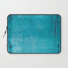 Believer of Blue - Acrylic painting Laptop Sleeve