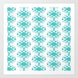 Monlay Turquoise Art Print