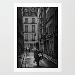 Parisian Art Print