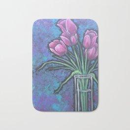I love purple Bath Mat