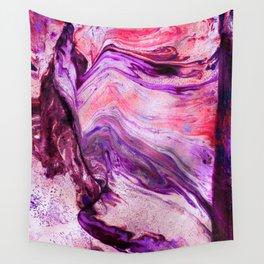 Marbled Garnet Wall Tapestry
