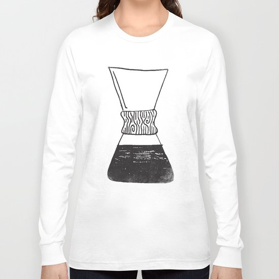 chemex coffee Long Sleeve T-shirt