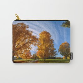 At Countryside Rural Road New England Carry-All Pouch