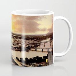 Downtown Portland Oregon Bridge View Coffee Mug