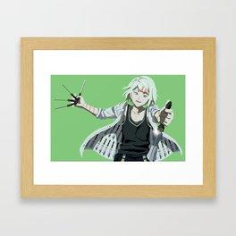 Juuzou - Tokyo Ghoul Framed Art Print