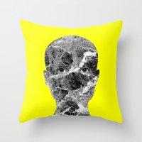 conan Throw Pillows featuring Conan by Tyler Spangler