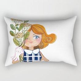 Flower Power Rectangular Pillow