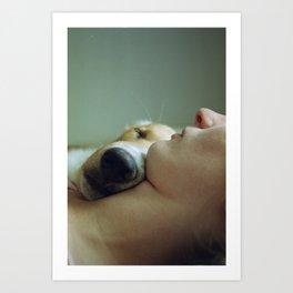 While you were sleeping  Art Print