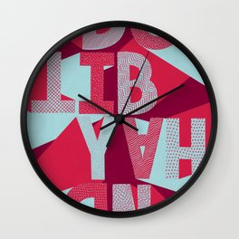 DO IT BY HAND! Wall Clock