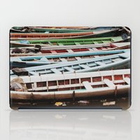 boats iPad Cases featuring Boats by BTP Designs
