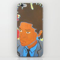 basquiat iPhone & iPod Skins featuring Basquiat by Justice Dwight