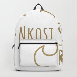 """Nkosi Sikelel' iAfrika """"God Bless Africa"""" Backpack"""