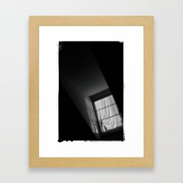 WINDOW LIGHT, SWITZERLAND Framed Art Print