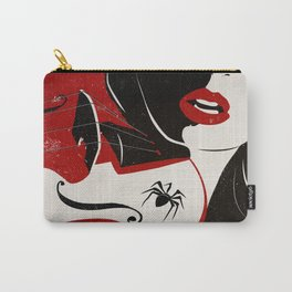 Woman and the Spider Carry-All Pouch