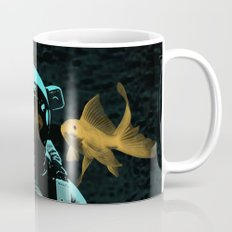 astronauts and goldfish Mug