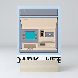 Dark Web Mini Art Print
