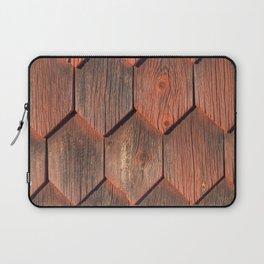 Wood paneling with patina Swedish style Laptop Sleeve