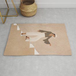 Stepping Up Rug