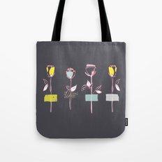 Rosewall (on grey) Tote Bag