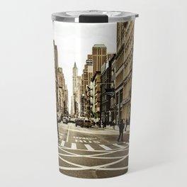 Broadway Crosswalk Travel Mug
